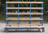 6 x A Frame Trolleys 2.3m Wide with Handle
